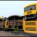 RENAULT F1 TRAILERS FOR SALE BY PADDOCK DISTRIBUTION